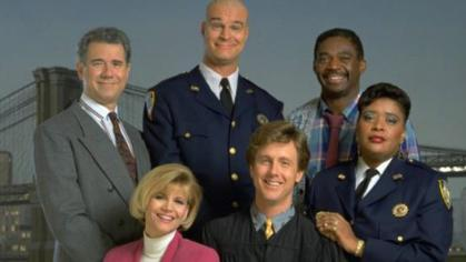 The 'Night Court' cast. One of the best damn shows in the 80s and early 90s.
